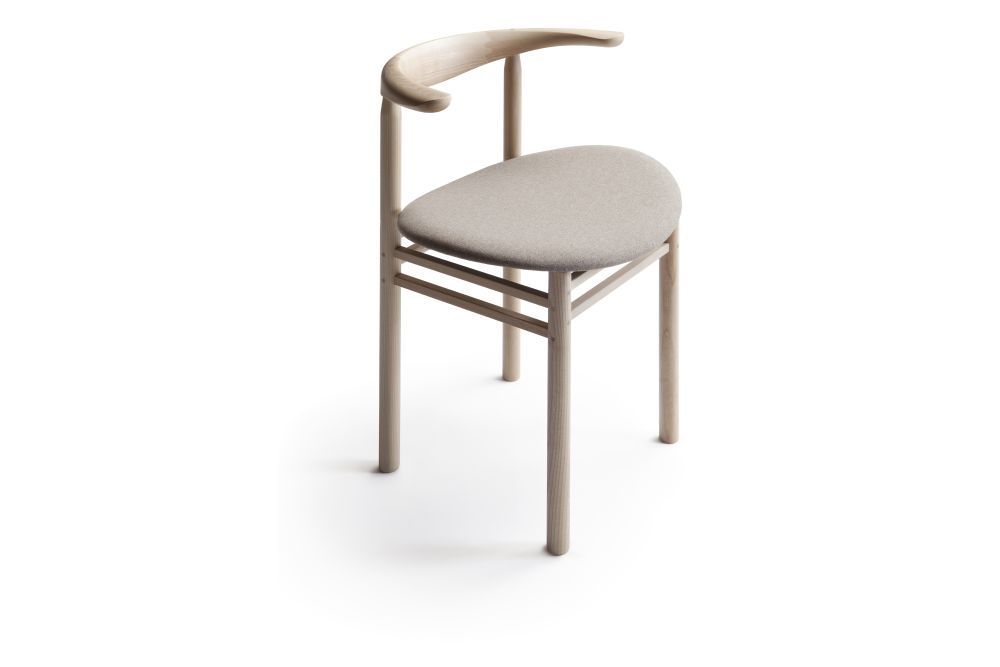 Linea Dining Chair with Seat Upholstery by Nikari