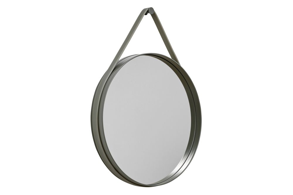 Metal Grey, Ø 70 cm,Hay,Mirrors,mirror,product