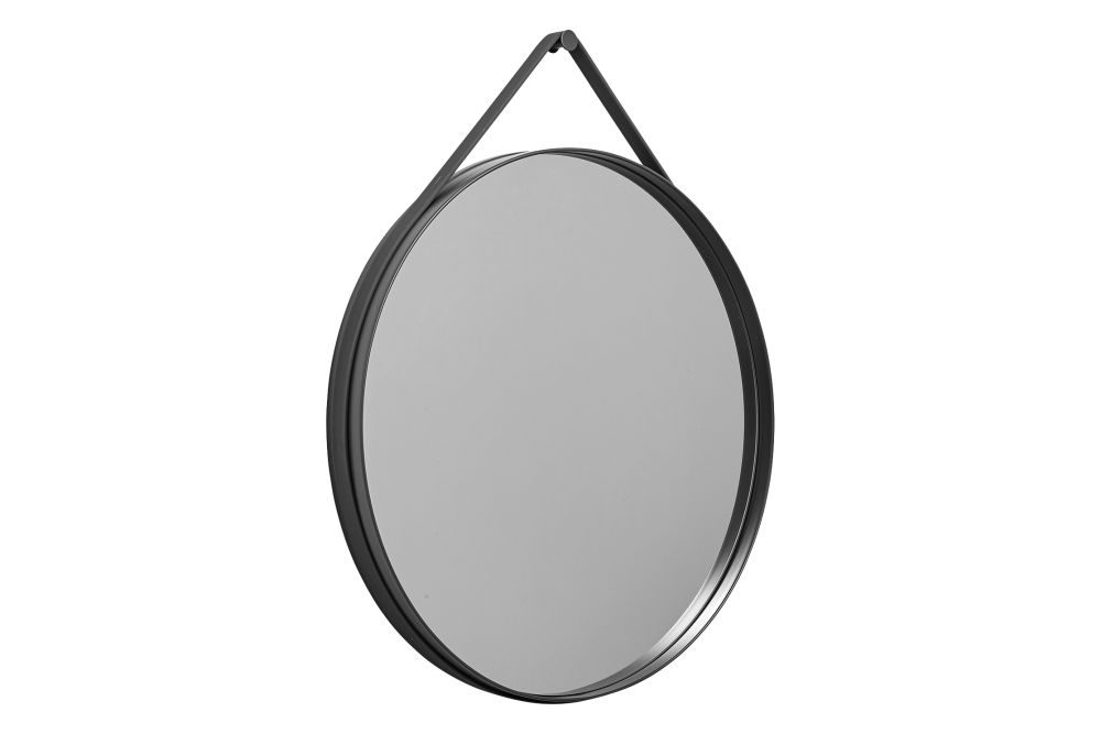 Metal Grey, Ø 50 cm,Hay,Mirrors,mirror,oval