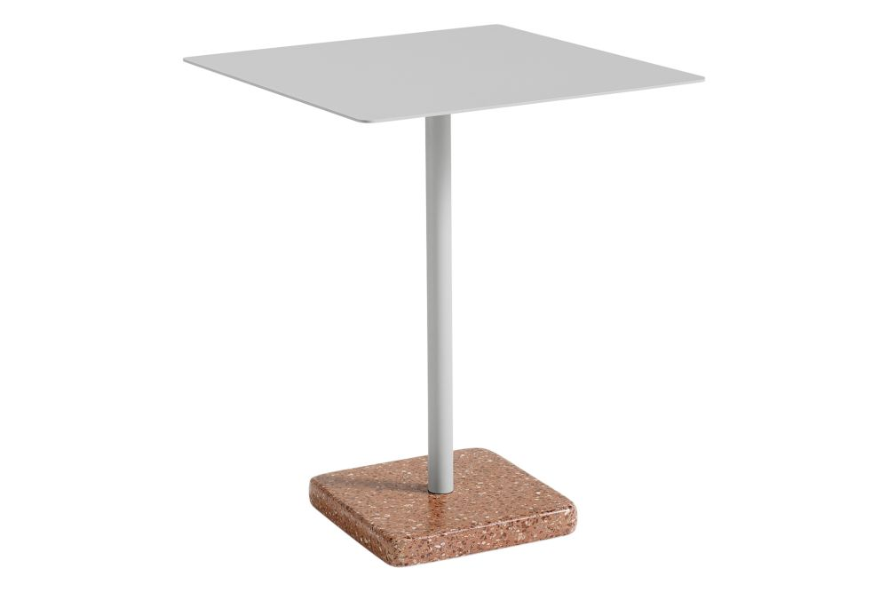 Metal Anthracite / Terrazzo Grey,Hay,Dining Tables,furniture,outdoor table,table