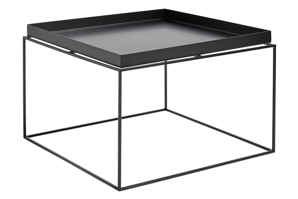 Metal Black,Hay,Coffee & Side Tables,end table,furniture,table