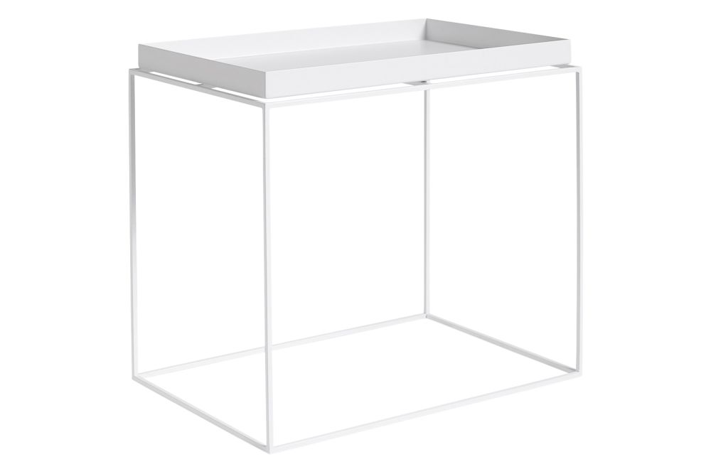 Tray Rectangular Side Table by Hay