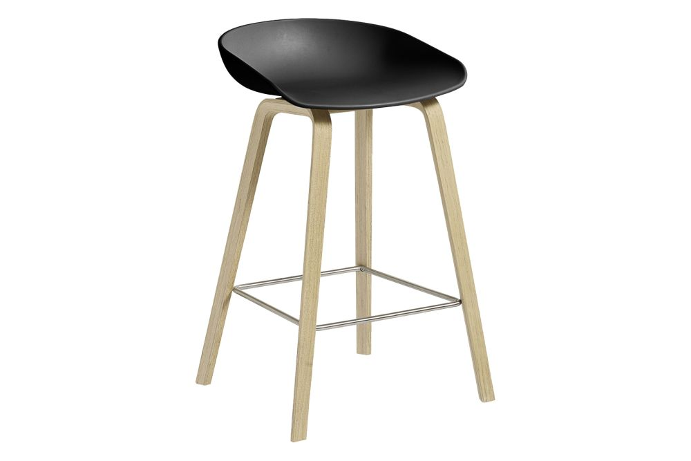 Plastic White, Wood Soaped Oak,  Metal Stainless Steel,Hay,Workplace Stools,bar stool,furniture,stool