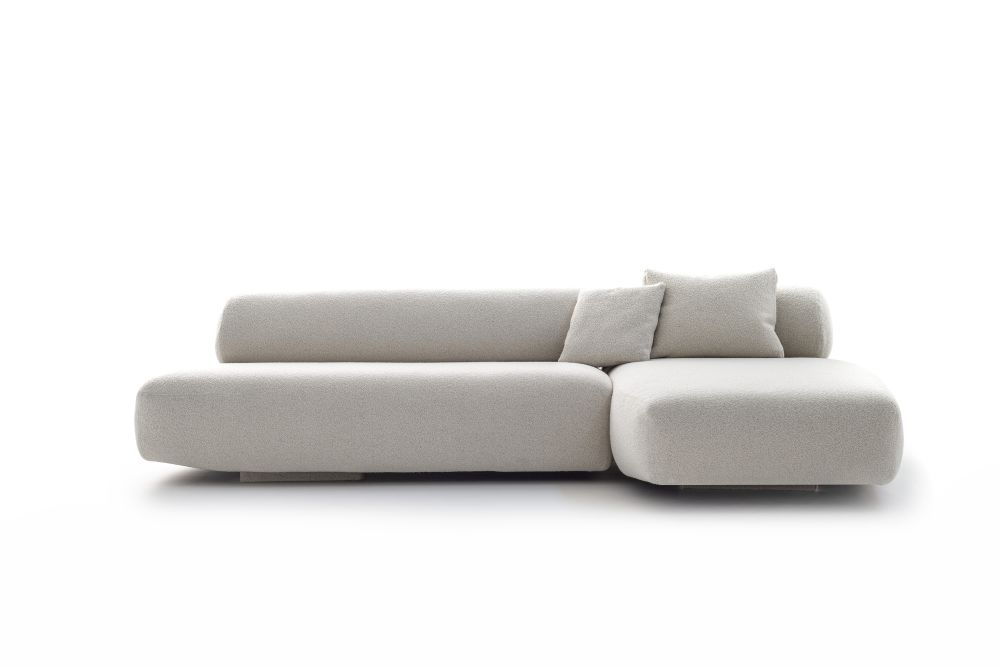Gogan Sofa Composition CA1 Q,Moroso,Sofas,beige,chaise longue,comfort,couch,furniture,product,sofa bed,studio couch