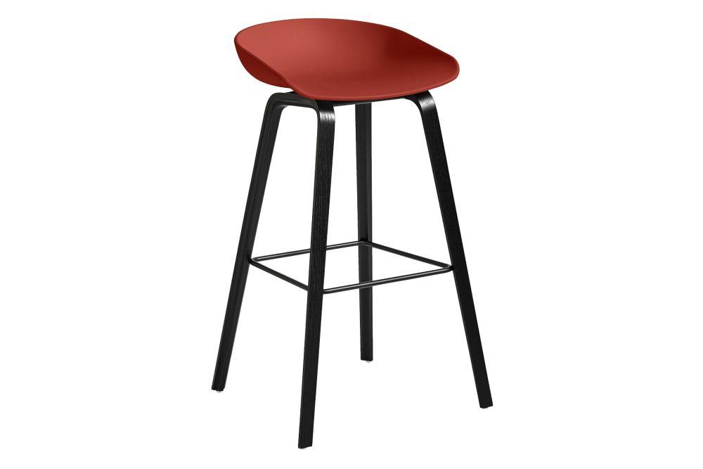 Plastic Black, Wood Soaped Oak, Metal Stainless Steel,Hay,Stools,bar stool,furniture,stool