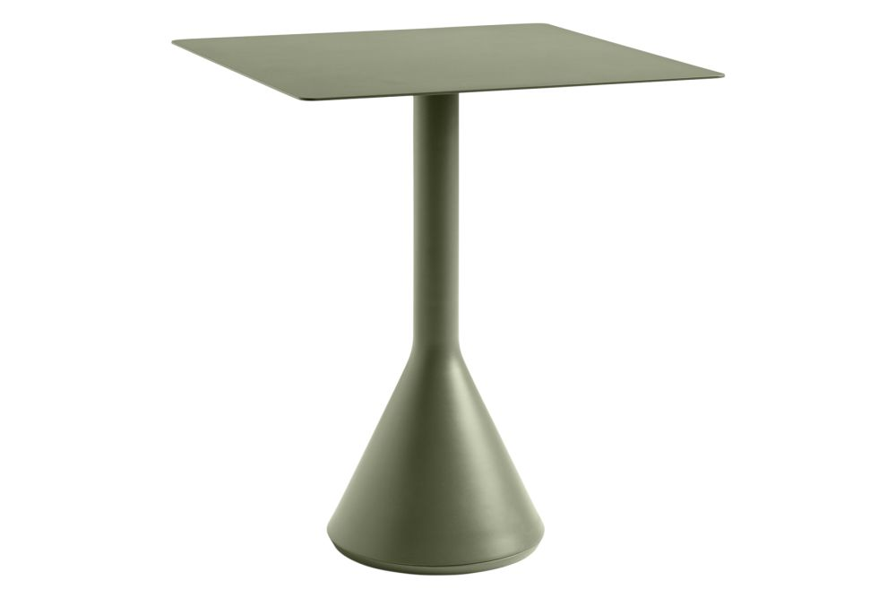Palissade Cone Square Dining Table by Hay