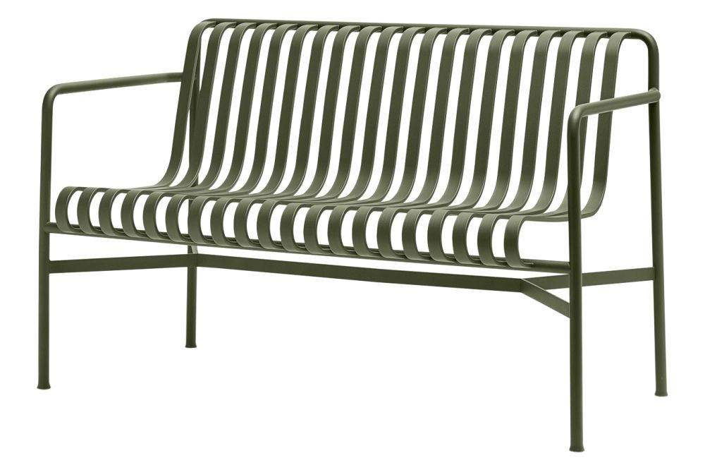 Palissade Dining Bench by Hay