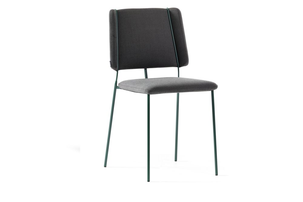 Frankie-08-46 Chair Four Legs Base by Johanson