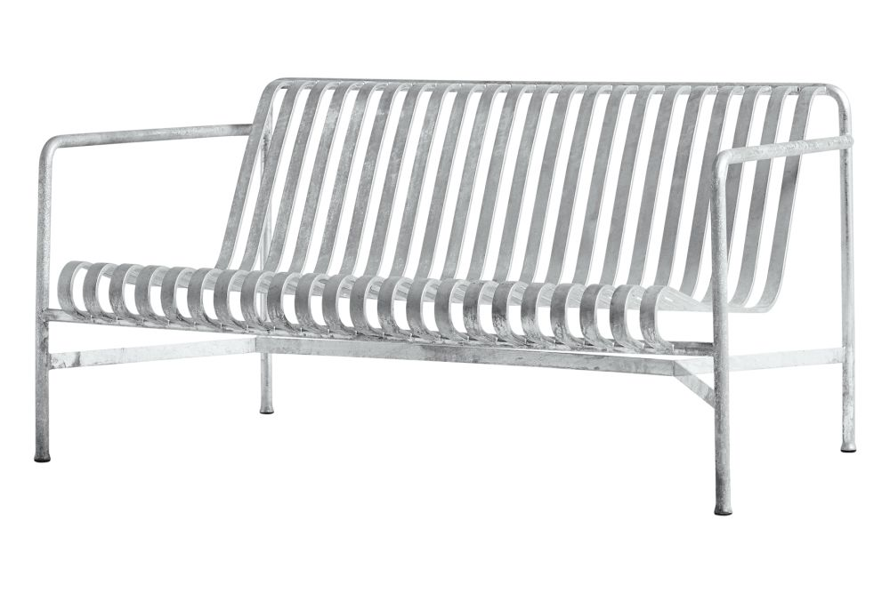 Metal Anthracite,Hay,Outdoor Sofas,chair,furniture,outdoor bench,outdoor furniture