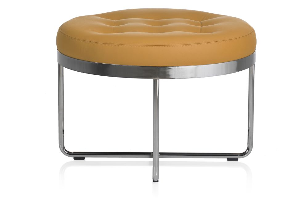 Pricegrp. PG5, Chrome, 110cm,Johanson,Breakout Poufs & Ottomans,bar stool,furniture,orange,product,stool,table