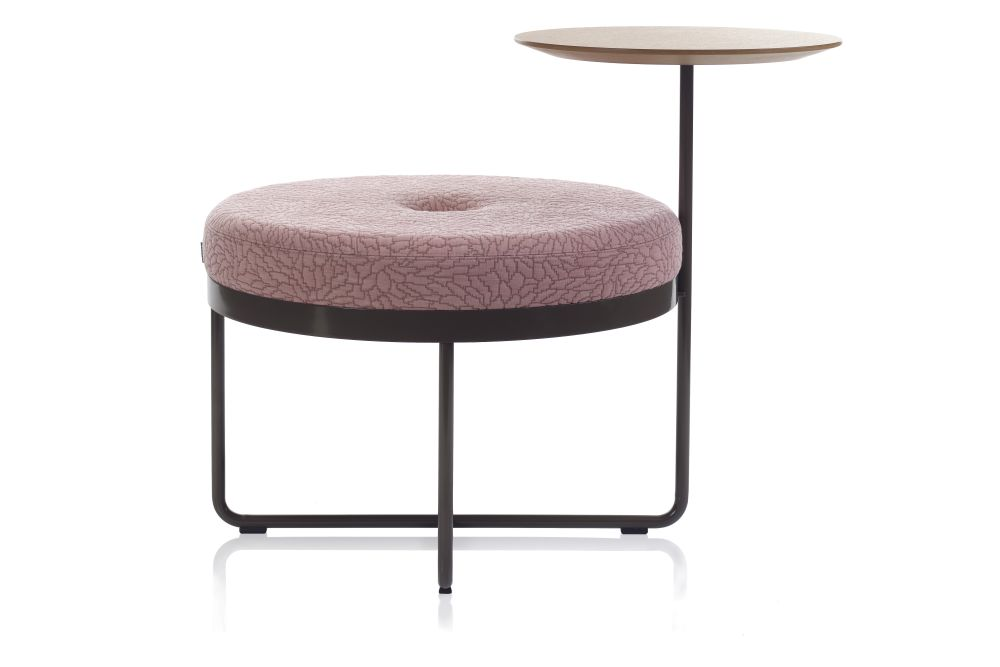 Shima 65 Pouf with Table by Johanson