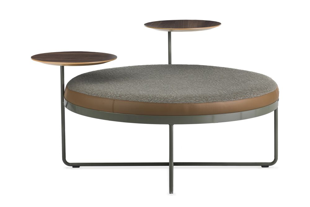 Shima Pouf with Table by Johanson