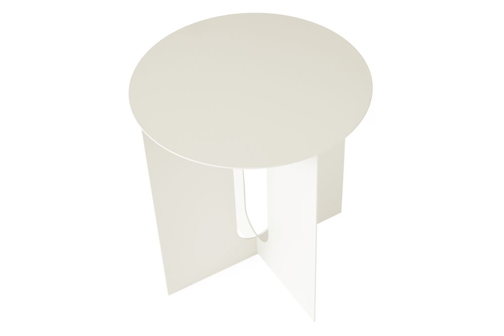 Steel Base, Ivory,MENU,Coffee & Side Tables,furniture,table