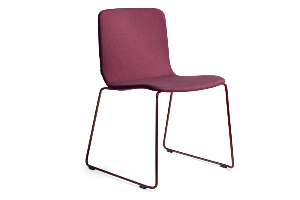 Robbie-09-46-Covered Chair Sled Base - Set of 2 by Johanson
