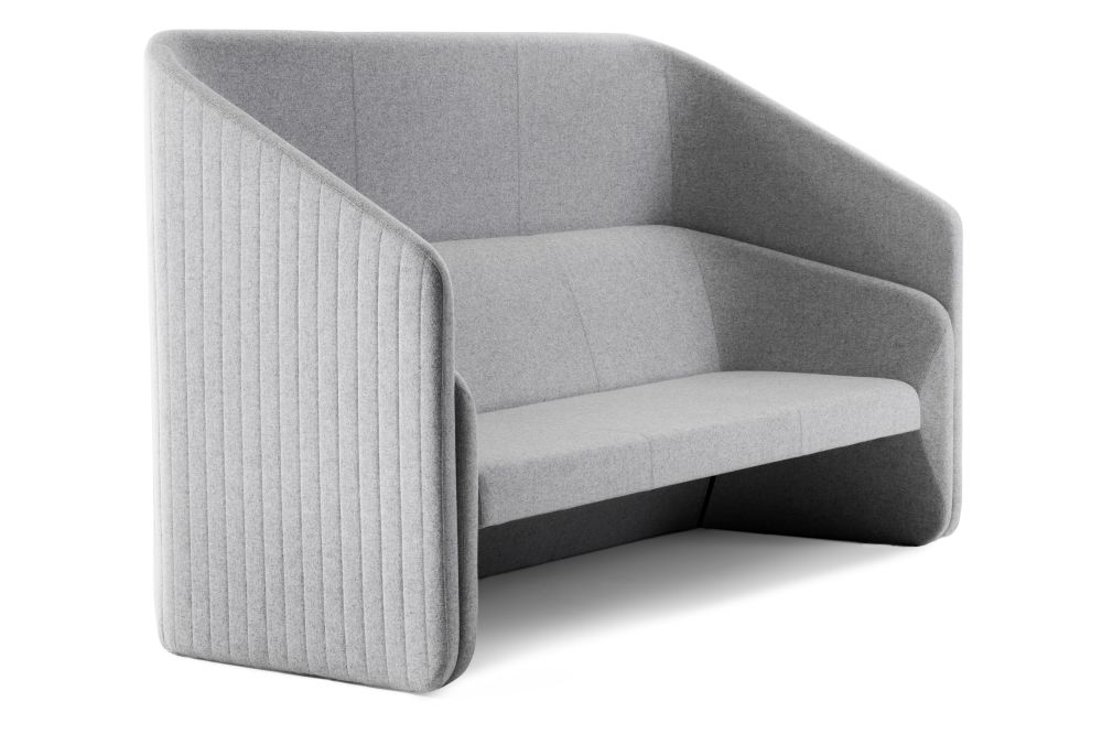 Race Sofa 2 Seater with Screen by Johanson