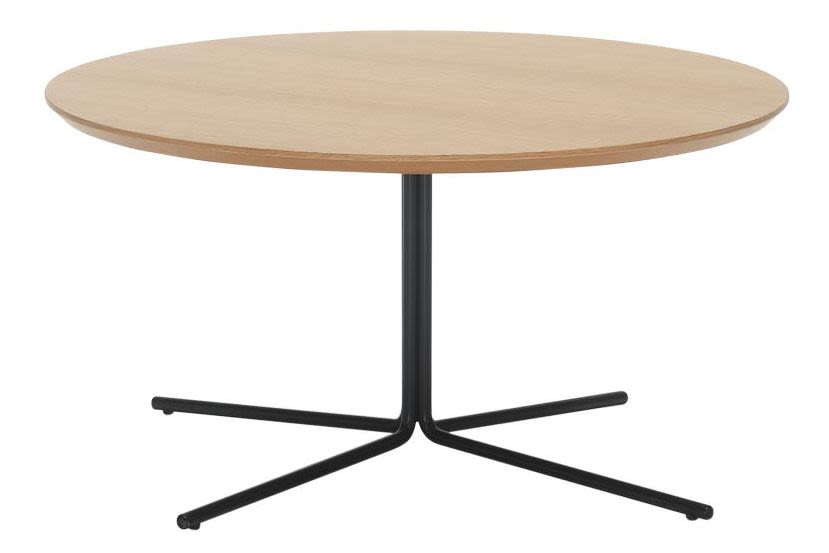 Lacquered MDF B00-Black, Chrome, 80cm,Inclass,Coffee & Side Tables,coffee table,end table,furniture,outdoor table,table,wood