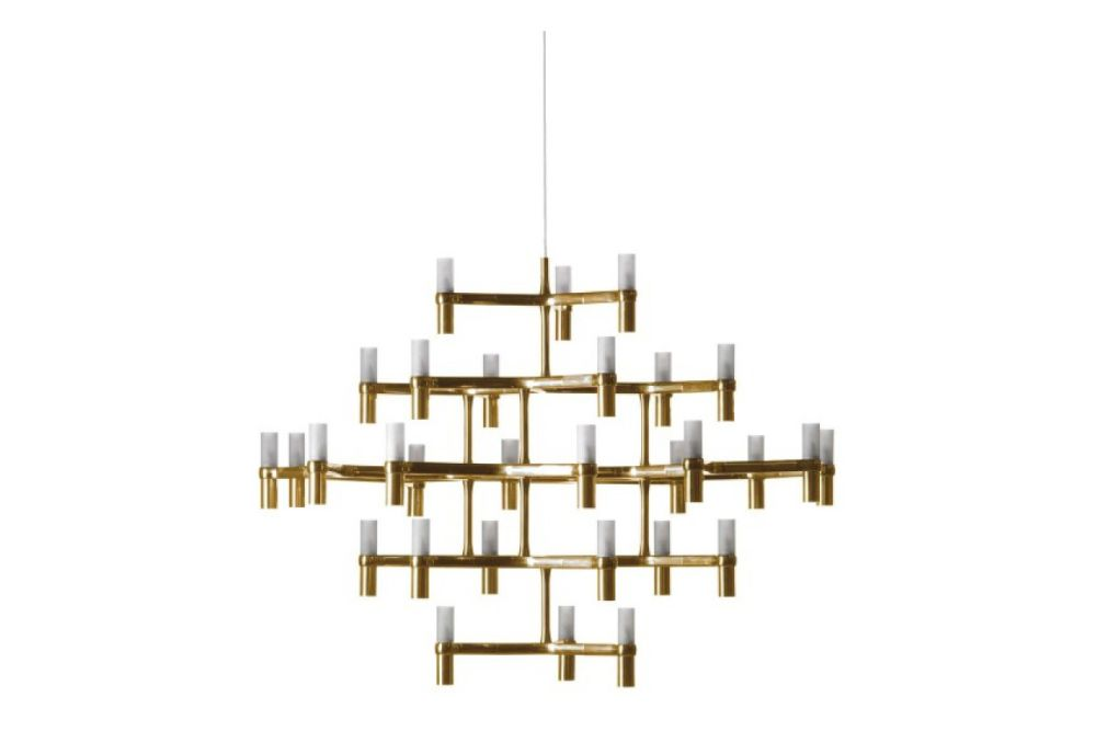 White,Nemo Lighting,Chandeliers,ceiling fixture,chandelier,light fixture,lighting