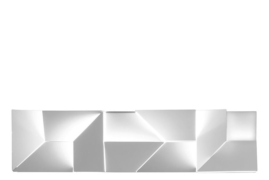 90 x 14 x 120,Nemo Lighting,Wall Lights,line,rectangle,table,white