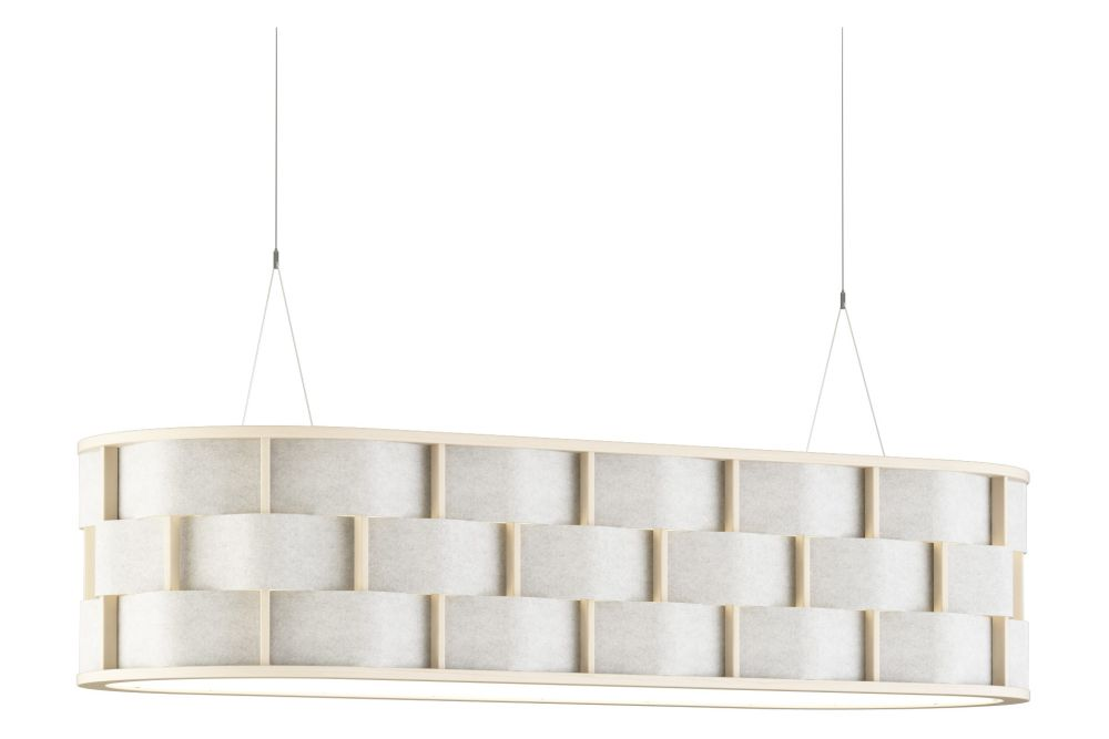 Weave Pendant Light with Acoustic by Glimakra of Sweden