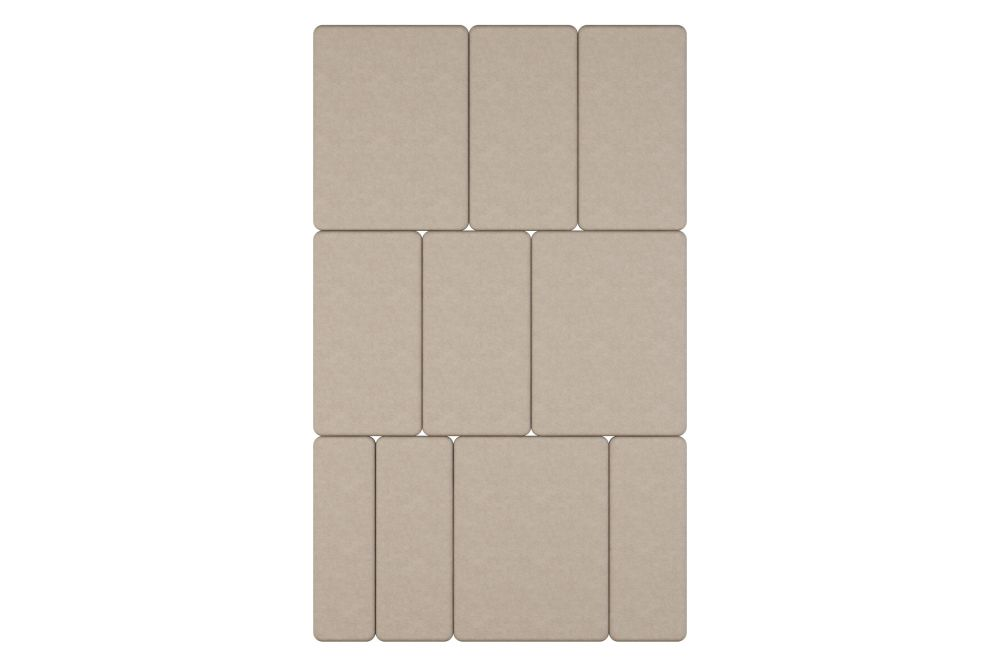 Pricegrp. Cara, 20cm,Glimakra of Sweden,Acoustic Panels,beige,rectangle,tan