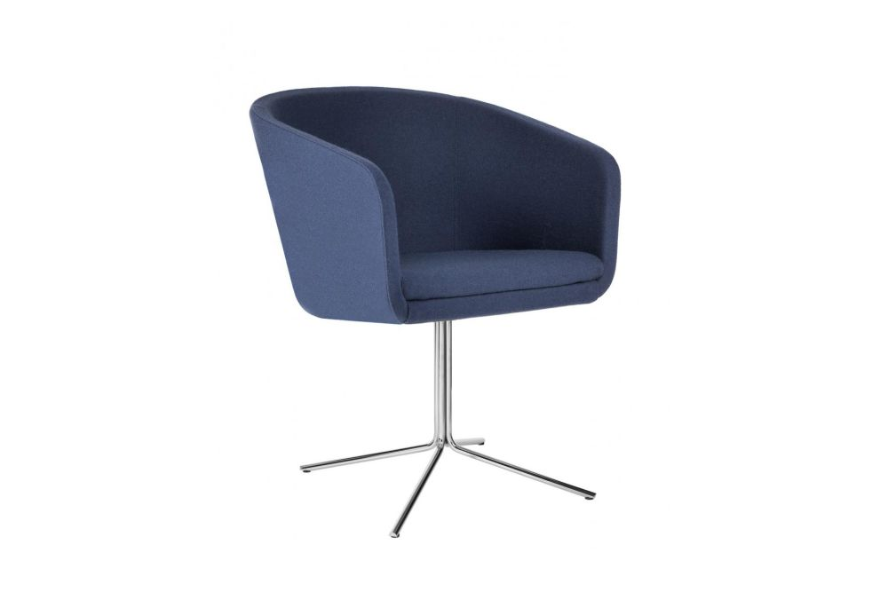 Cabin-07-46 Armchair Swivel Base by Johanson
