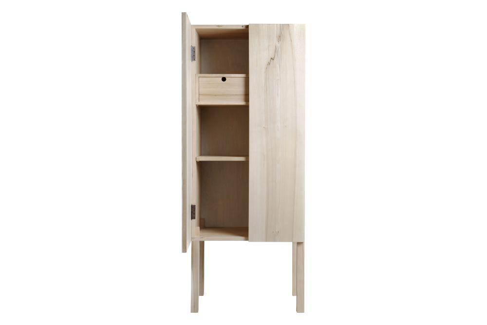 Elm Natural Oil, 60 x 40 x 155,Nikari,Cabinets & Sideboards,cupboard,furniture,shelf,shelving,table