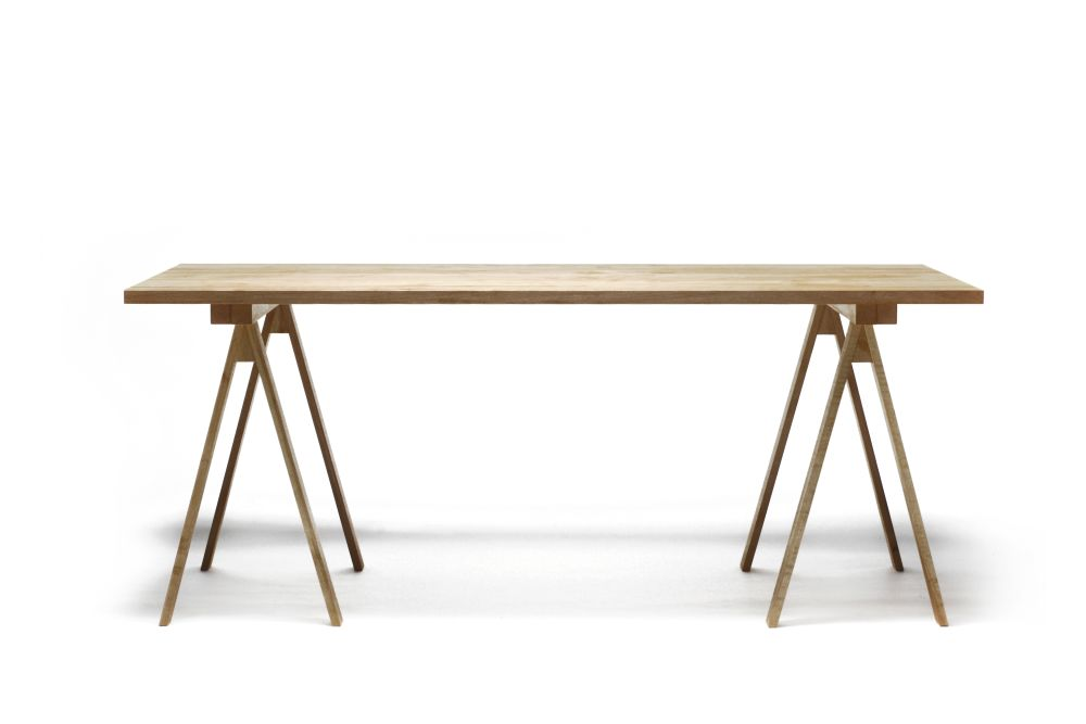 Arkitecture Dining Table - Trestle & Top by Nikari