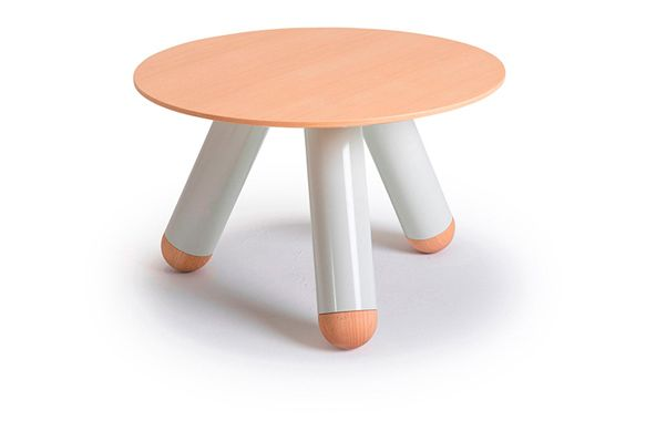 Iron White, Plywood Black, 40cm,Lagranja Collection,Coffee & Side Tables,furniture,orange,stool,table