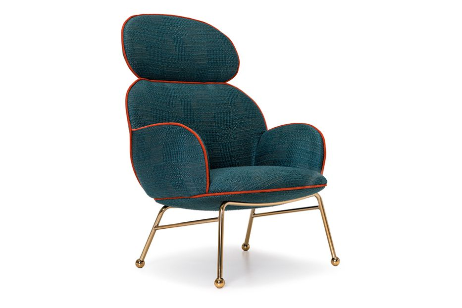 Round High Armchair by Lagranja Collection