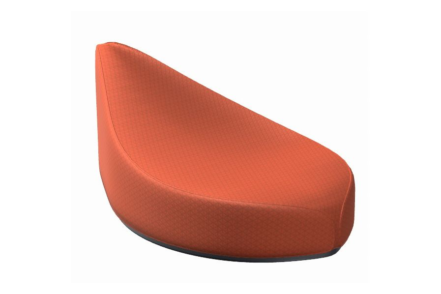 La Cividina Xtreme,La Cividina,Breakout Poufs & Ottomans,furniture,orange