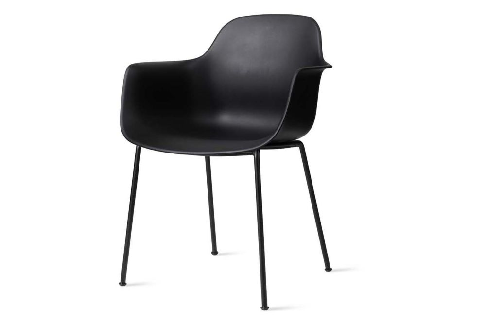 Black Powder Coated, White,Icons Of Denmark,Breakout & Cafe Chairs,black,chair,furniture,leather