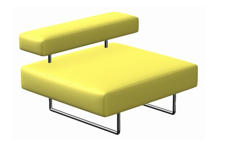 La Cividina Xtreme, Polished Chrome,La Cividina,Breakout Sofas,furniture,yellow