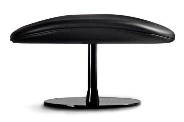 RAL 9005 Black, La Cividina Medley,La Cividina,Breakout Poufs & Ottomans,bar stool,furniture,leather,material property,stool,table