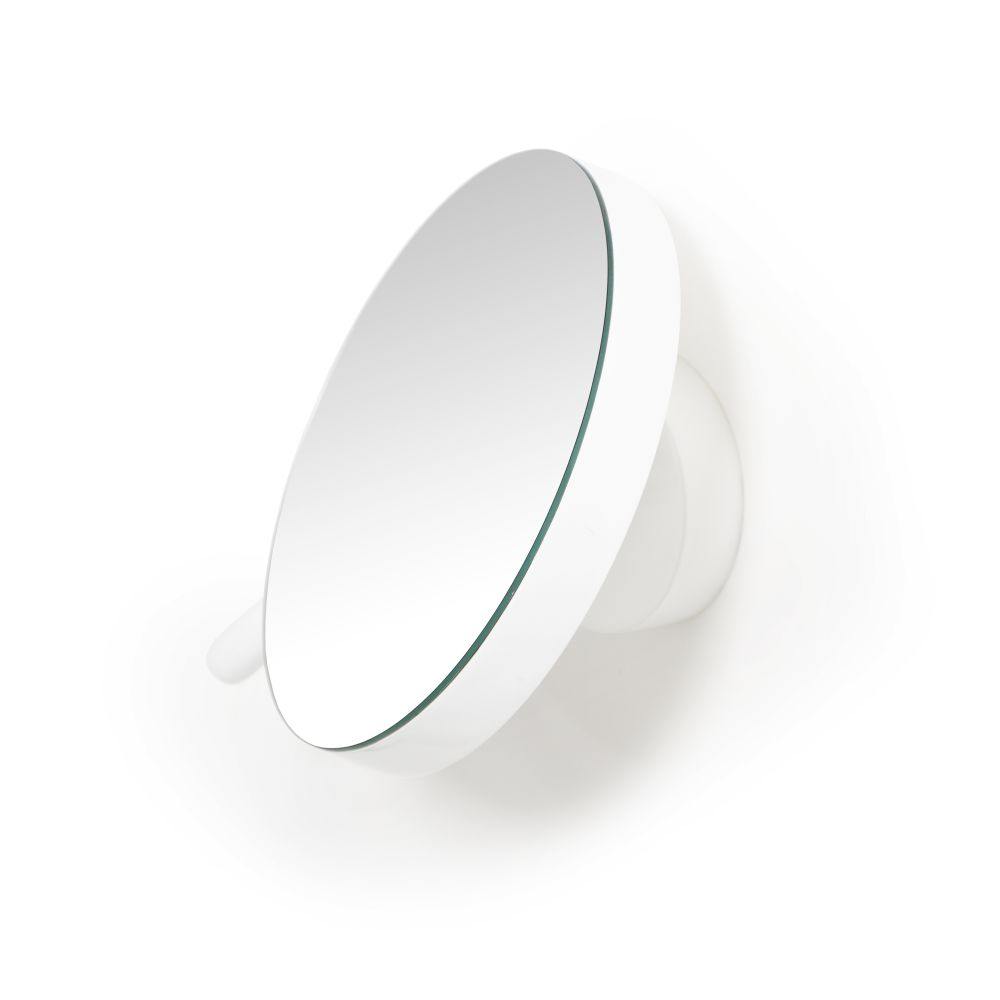 Magnifying Mirror Wall Gloss White,Wireworks,Mirrors,ceiling,product