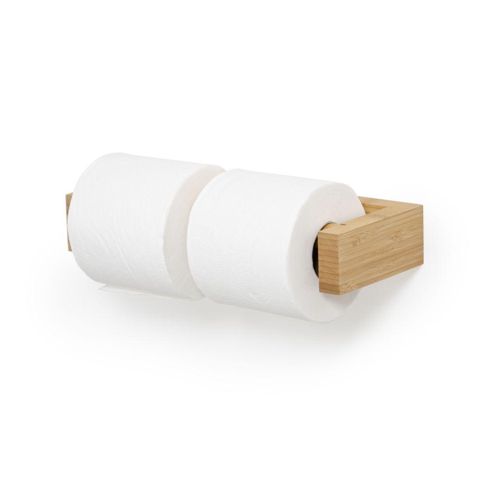 Double Toilet Roll Holder Wall Slimline,Wireworks,Accessories,beige