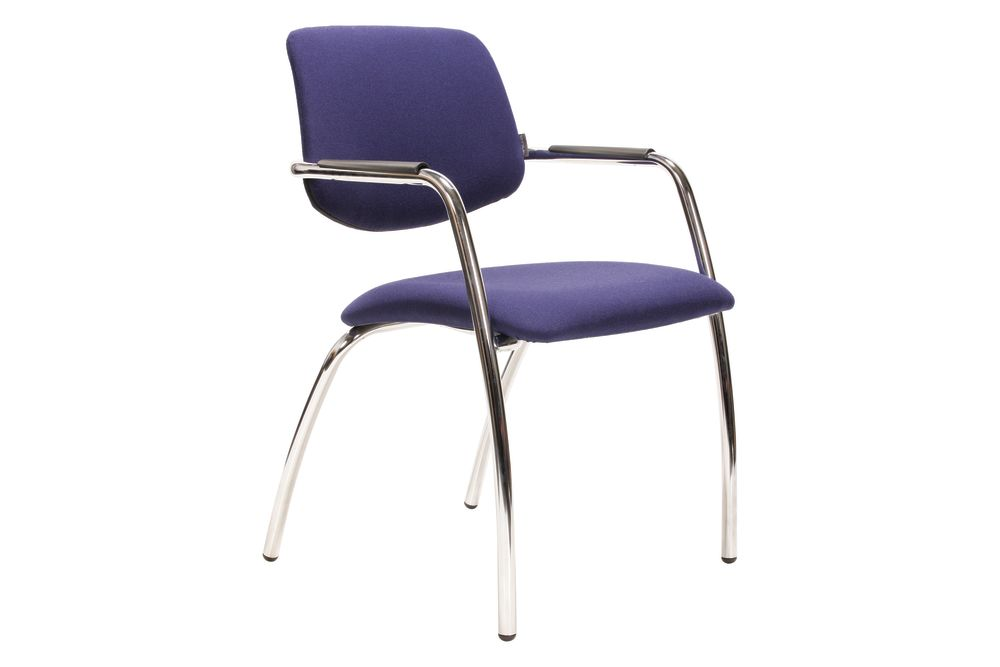 No Castors, Era C03, M Metallic Metal,Narbutas,Conference Chairs,armrest,chair,furniture,material property,purple,violet