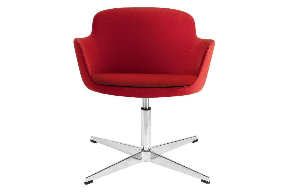 Era C03,Narbutas,Breakout Lounge & Armchairs,armrest,chair,furniture,line,office chair,red