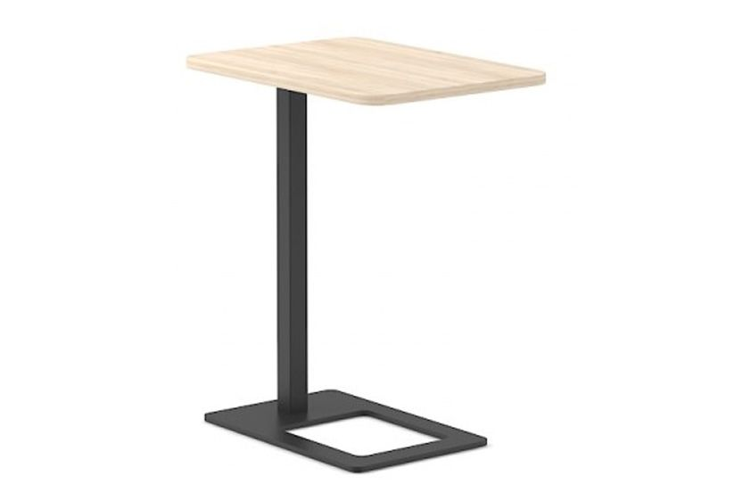 D1 Whitened Oak, A Black Metal,Narbutas,Coffee & Side Tables,end table,furniture,outdoor table,table