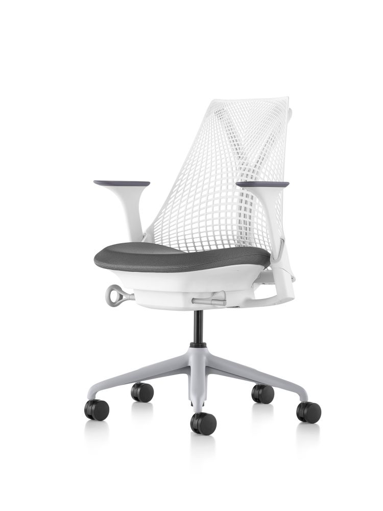 Fog,Herman Miller,Task Chairs,chair,furniture,line,material property,office chair,product,white