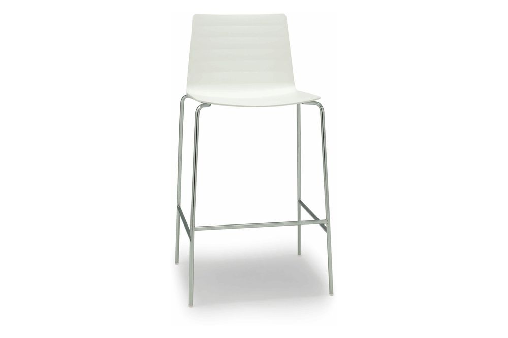 Thermo-polymer finish 6012, Steel finish CRB,Andreu World,Workplace Stools,bar stool,chair,furniture,stool