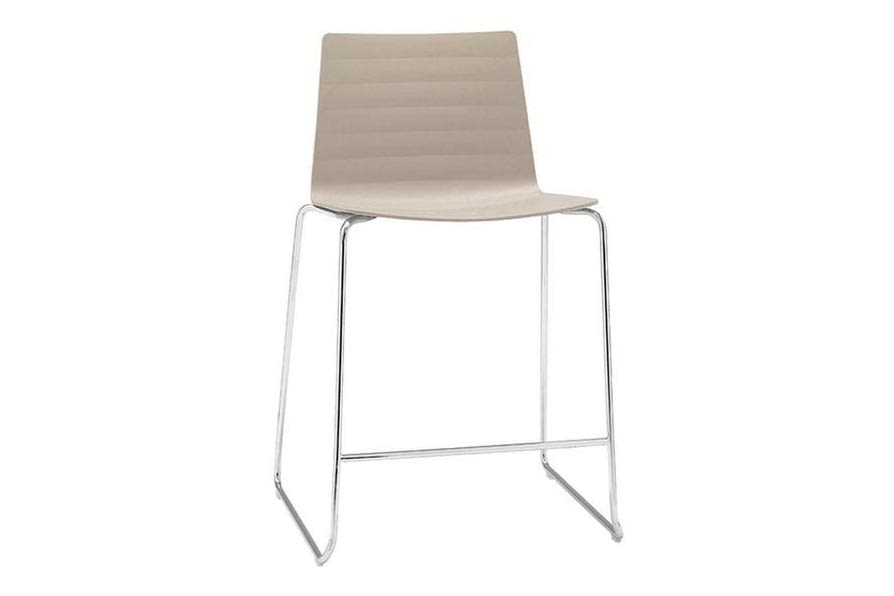 Thermo-polymer finish 6012, Steel finish CRB,Andreu World,Stools,beige,chair,furniture