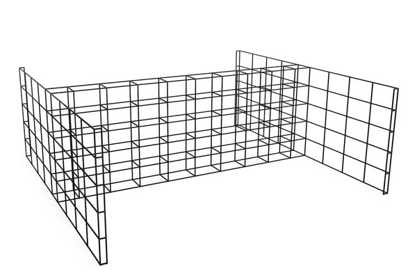 H Combined, 40 - 40, 3 High, 8 Wide, 8 Deep,Spacestor,Workplace Cabinets & Shelving,product,storage basket