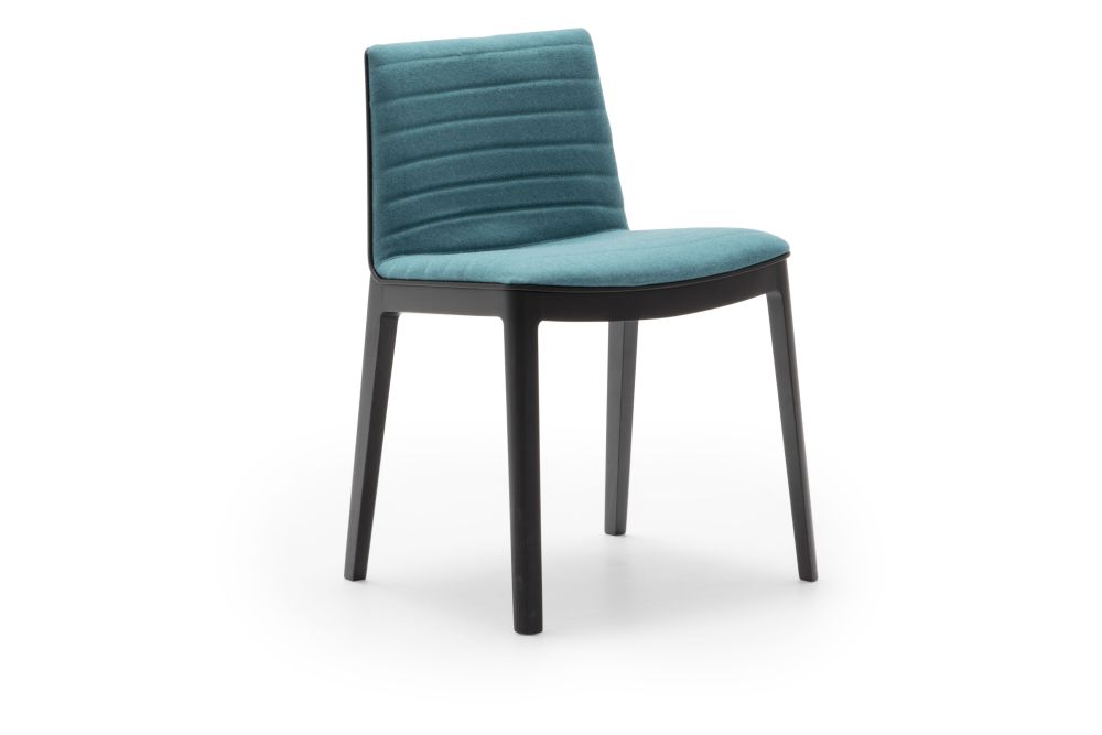 Thermo-polymer finish 6000, Wood finish Beech 311, Andreu World Jacquard One,Andreu World,Breakout & Cafe Chairs,aqua,chair,furniture,turquoise