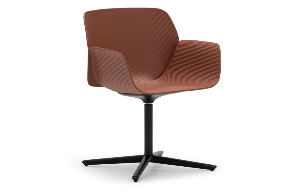 Nuez 4-Star Swivel Base Armchair by Andreu World