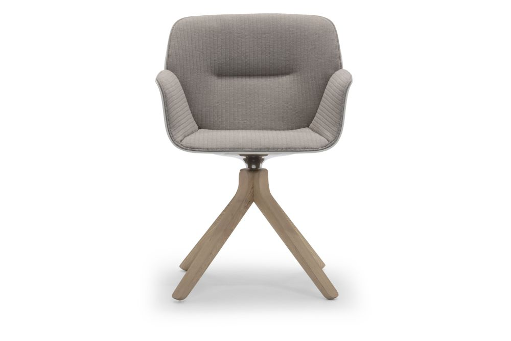 Andreu World Jacquard One, Thermo-polymer finish 6000, Wood finish Ash 305,Andreu World,Conference Chairs,beige,chair,furniture,office chair,wood