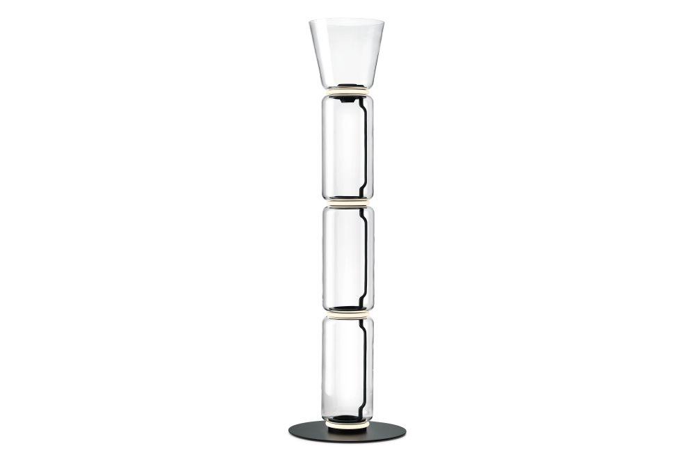 Noctambule High Cylinder & Cone Floor Lamp by Flos