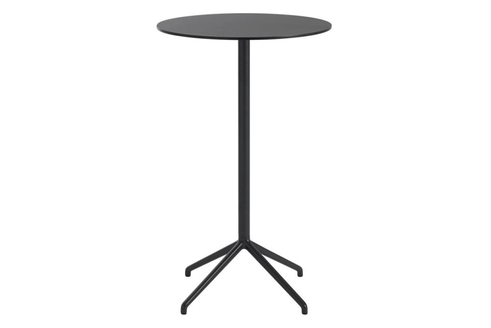 Still Cafe Table - Round Top - High by Muuto