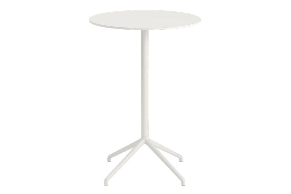 Still Cafe Table - Round Top - Medium by Muuto