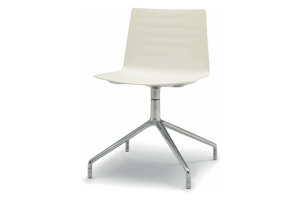 Thermo-polymer finish 6000, Aluminium finish 6000,Andreu World,Conference Chairs,beige,chair,furniture,product,white