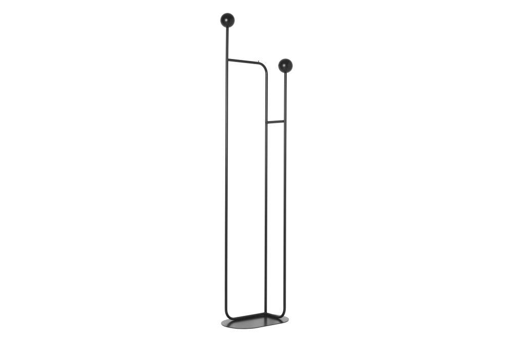 Pujo Coat Stand - Black,ferm LIVING,Hooks & Hangers